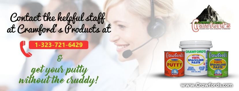 Contact the helpful staff at Crawford's Product at 1-323-721-6429.